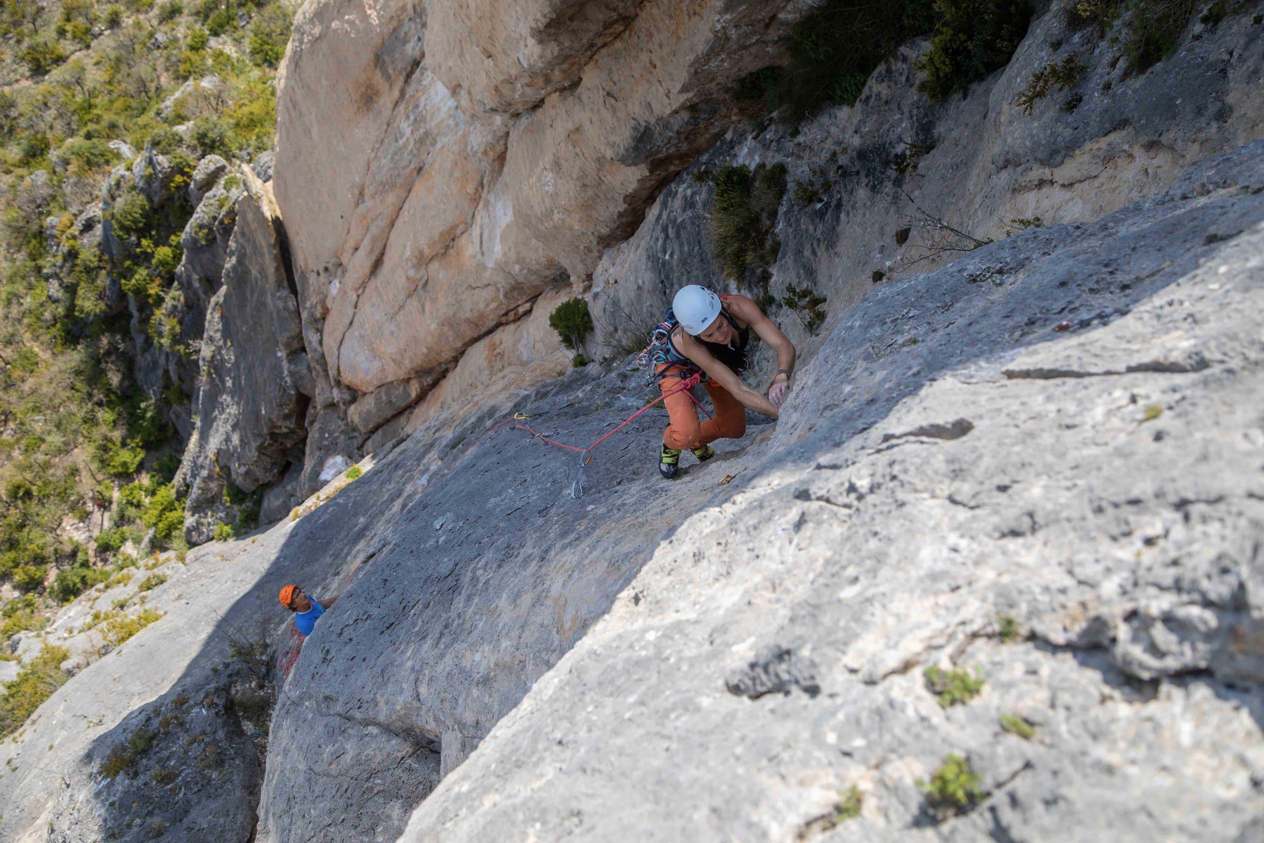 Escalade Gorges de la Jonte Grande voie cevennes aveyron millau occitanie lozere sud ouest midi pyrenees