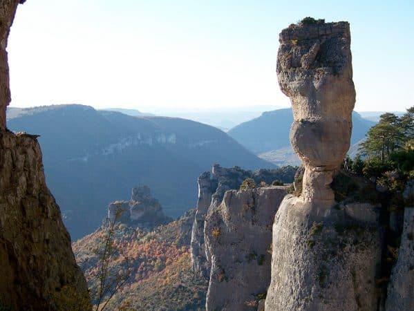 Escalade Gorges de la Jonte grimpe Grande voie aveyron cevennes aveyron millau cevennes occitanie sud ouest