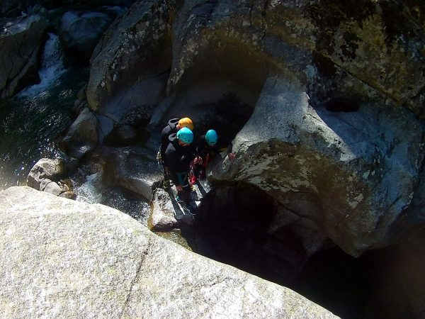 canyoning dourbie cévennes