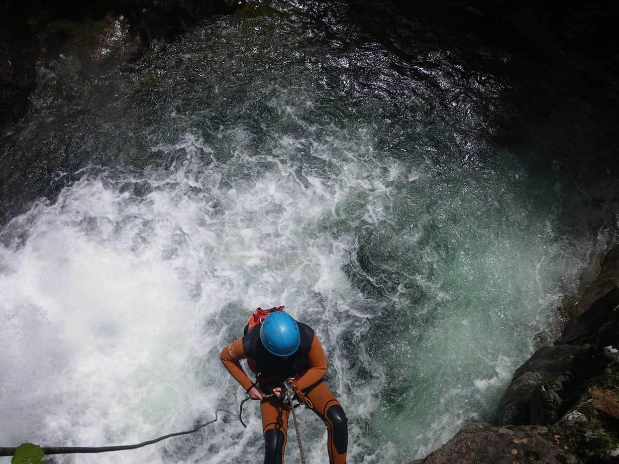 canyoning dourbie cévennes canyoning tapoul gorges de la dourbie millau