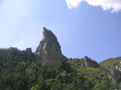 escalade gorges du tarn roc aiguille cevennes aveyron 12000