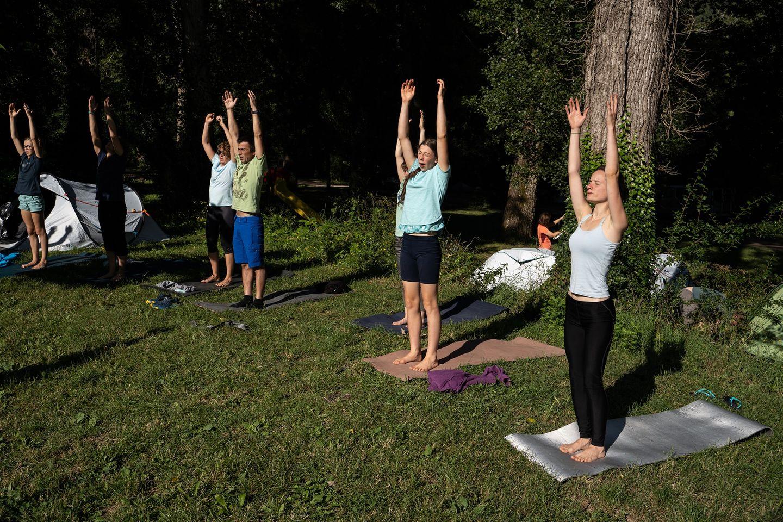 stage yoga escalade aveyron cévennes millau occitanie midi pyrénées
