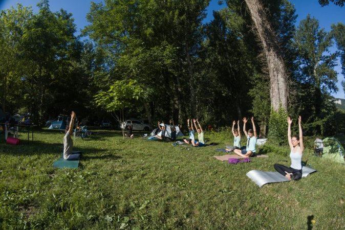 stage yoga et escalade millau cévennes aveyron 12000