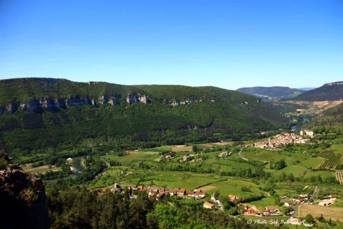 via ferrata gorges du tarn liaucous cevennes millau aveyron occitanie grands causse sud ouest
