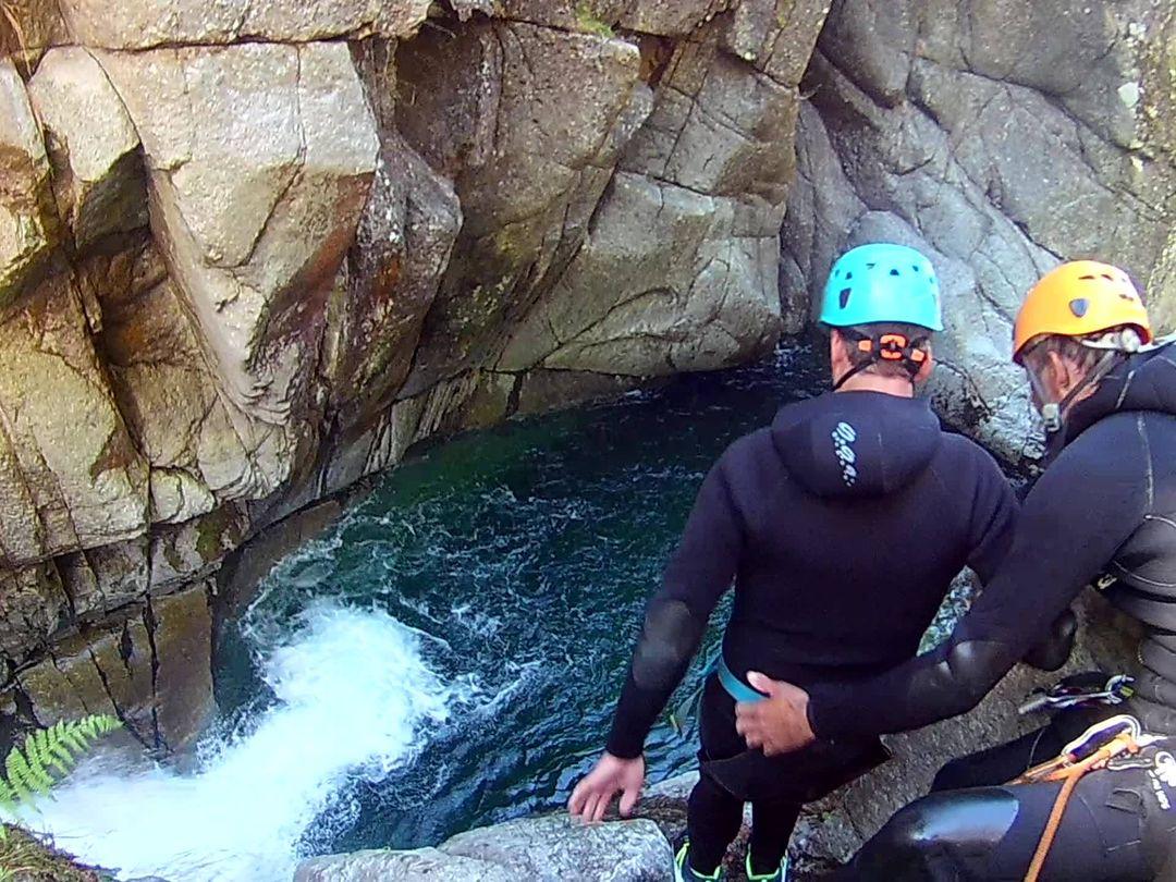 canyoning millau descente canyon descente rappel randonnée aquatique millau 12 aveyron parc national cevennes